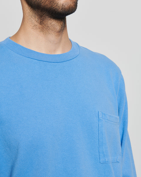 paa - LS Pocket Tee - Blue Day