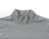 Mock Neck - Heather Grey