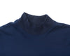 Mock Neck - Navy