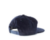 Wide Wale Pleat Cap - Navy