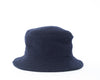 Bouclé Bucket Hat - Navy