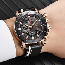 Load image into Gallery viewer, TOP BRAND CHRONOGRAPH WATER-RESISTANT SPORT WATCH