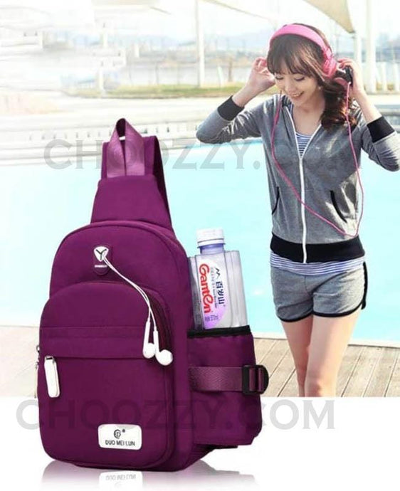 Women Crossbody/ Shoulder/ Daily/ Travel mini Backpack Sling Bag