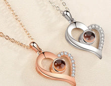 Load image into Gallery viewer, I Love You in 100 Languages Necklace.