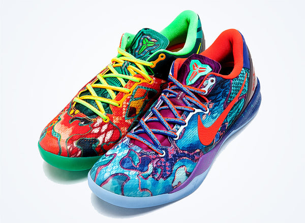 sale retailer 3239c b0cd4 This morning the What the Kobe 8 s released and might of been one of the  fastest sellouts that I have ever seen. This vibrant colorway incorporates  all ...