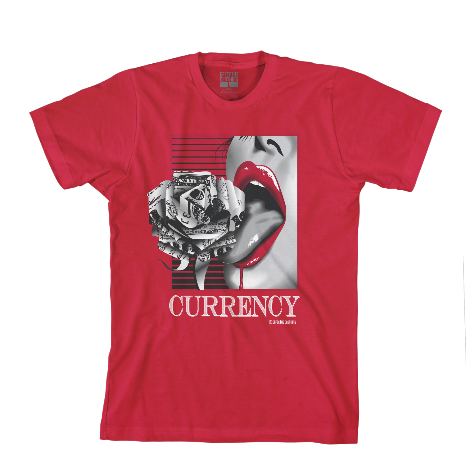 Currency Red