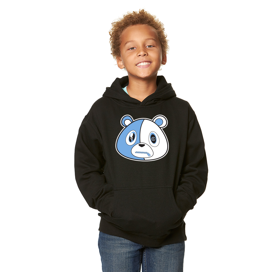 E Bear UNC Hoodie Youth