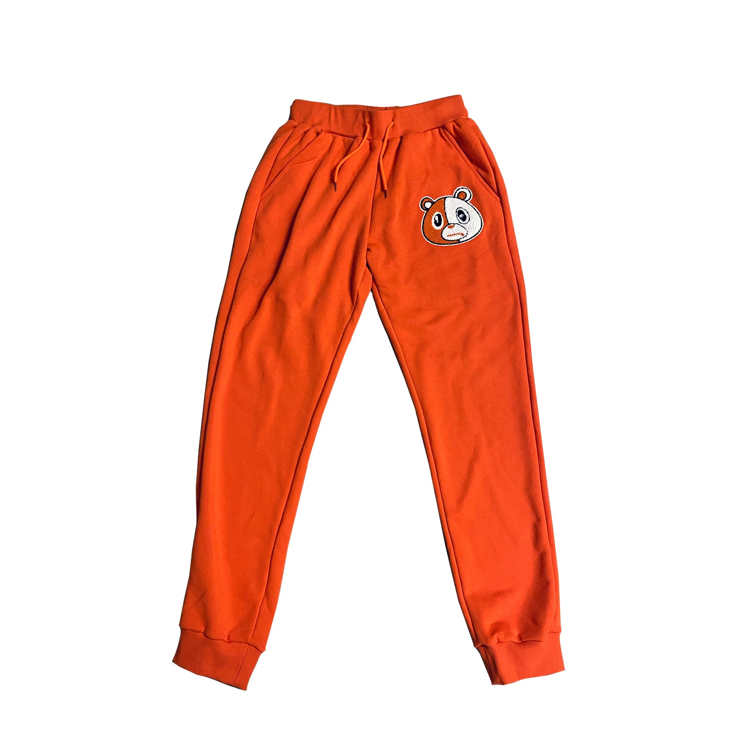 E Bear Chenille Pants Orange