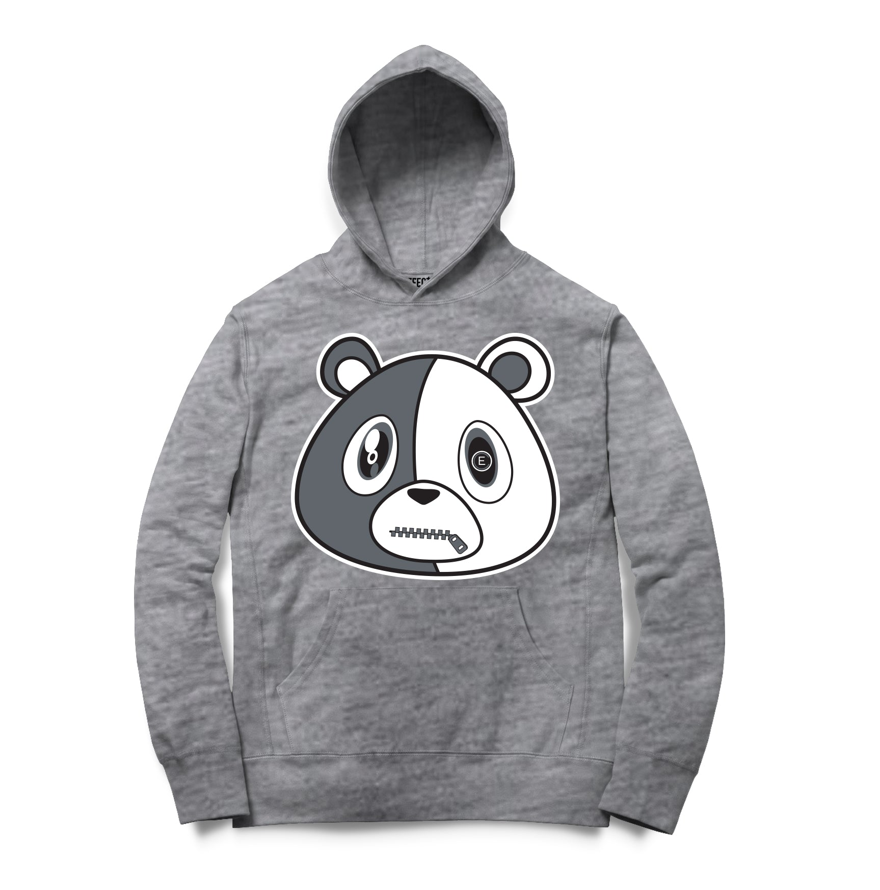 E Bear Hoodie Heather Grey
