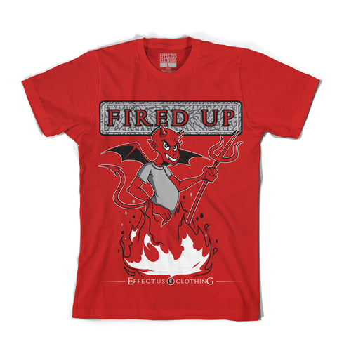 Fired Up Red