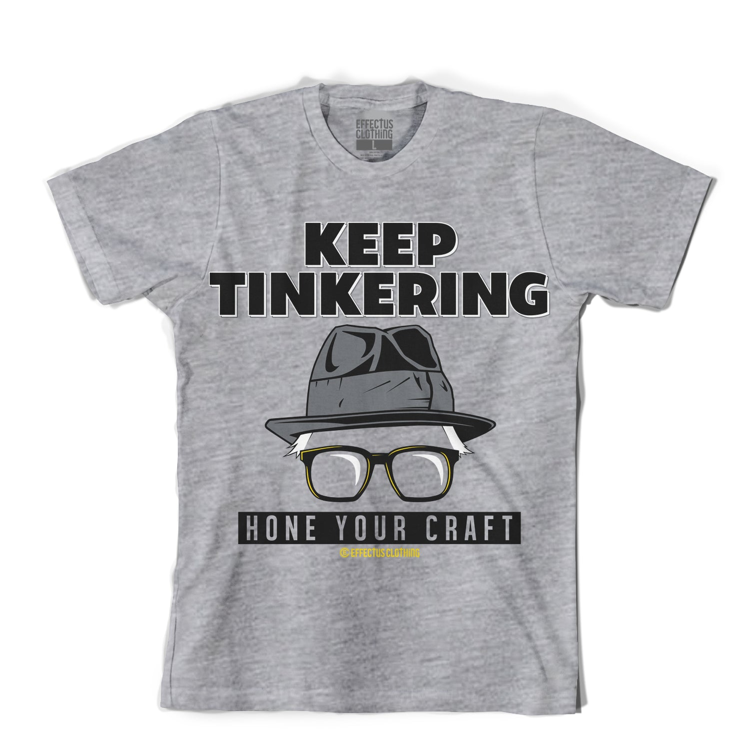 Keep Tinkering Cool Grey