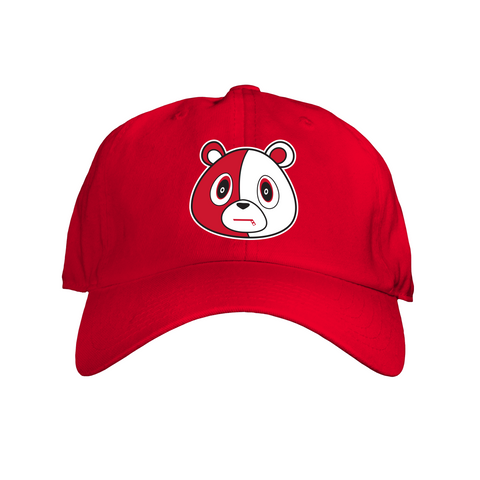 Bear Hat Solid Red