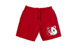 E Bear Red Shorts