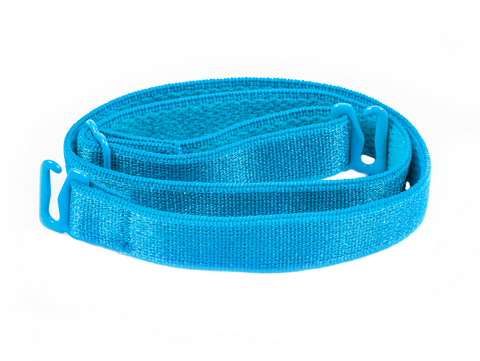 Aqua Blue replacement or detachable bra straps