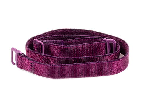 Aubergine detachable or replacement bra straps
