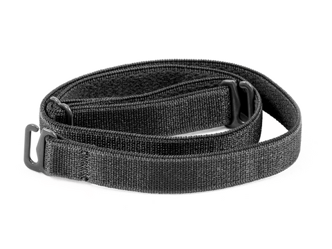 Black detachable or replacement bra straps