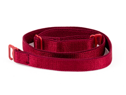 Claret Red detachable or replacement bra straps