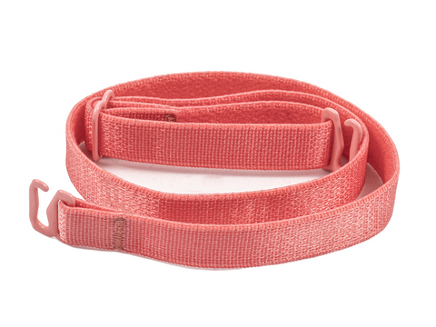 Coral Pink detachable or replacement bra strap