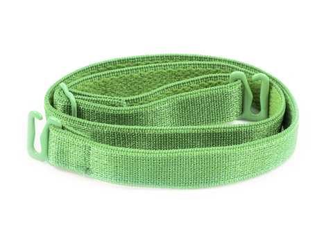 Green detachable or replacement bra strap