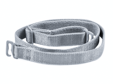 Grey detachable or replacement bra strap