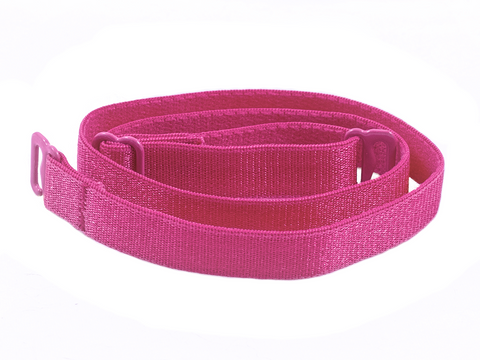 Hot Pink detachable or replacement bra straps