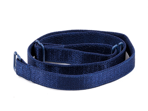 Navy Blue detachable or replacement bra straps