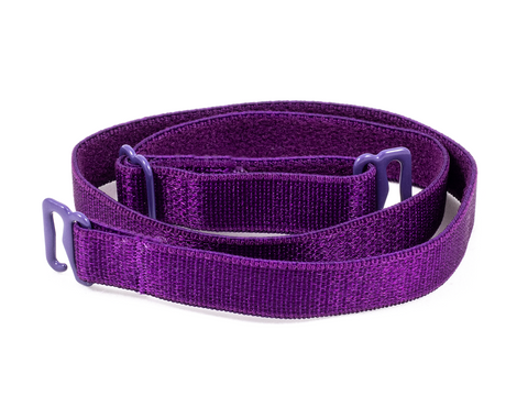 Purple detachable or replacement bra straps