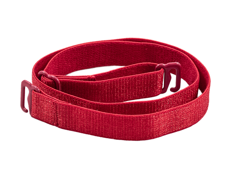 Red detachable or replacement bra strap