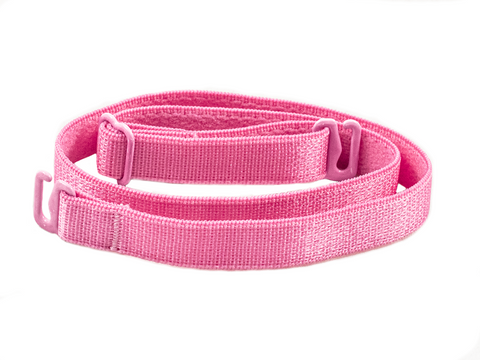 Rose Pink detachable or replacement bra strap