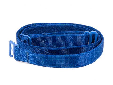 Royal Blue detachable or replacement bra straps