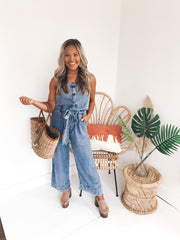 Denim Delight Jumpsuit