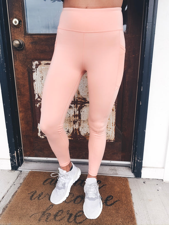 Step Up Your Game High Waisted Leggings