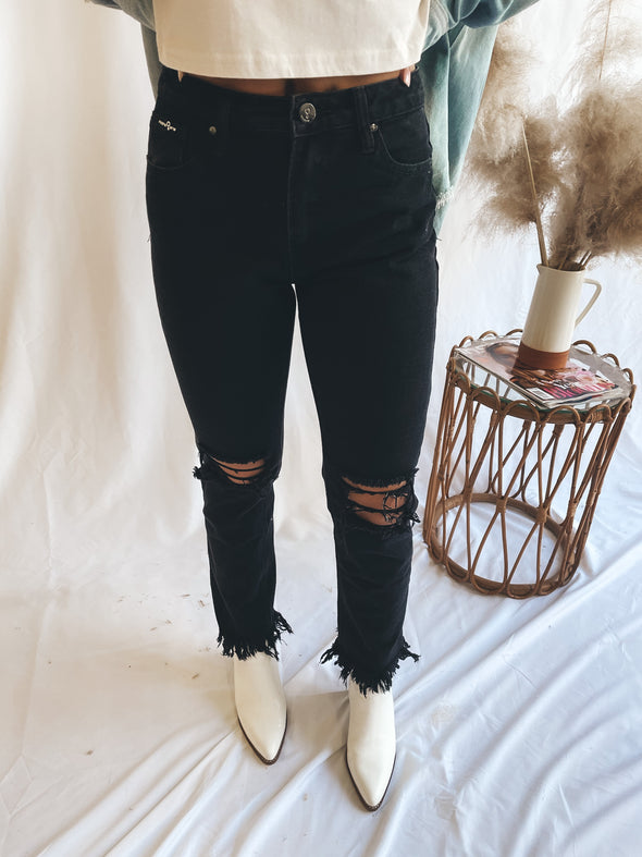 Unmatched High Rise Jeans