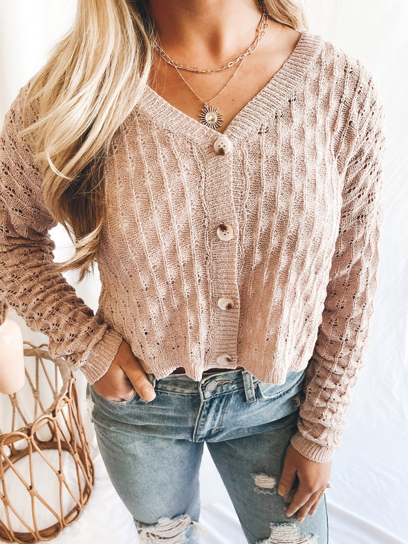 Beverly Cropped Top