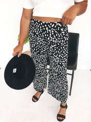 Leopard Bloom Pants