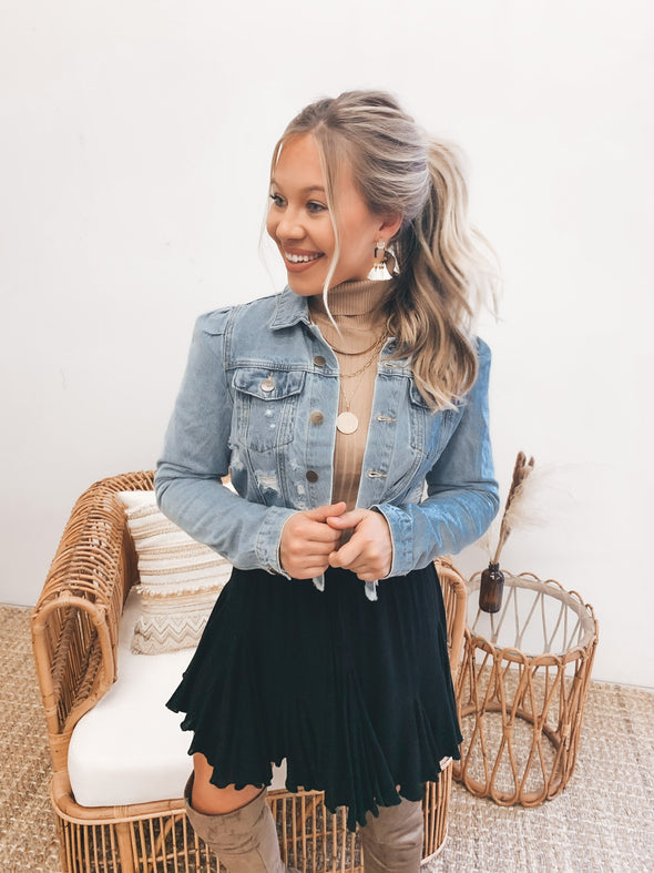 Pair Me Well Denim Jacket