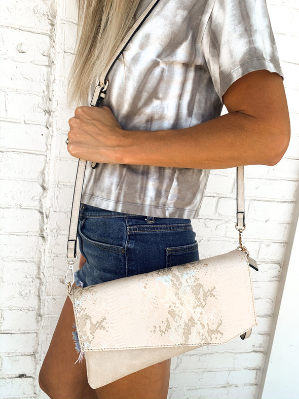 The Jenny Clutch W/ Optional Shoulder Strap