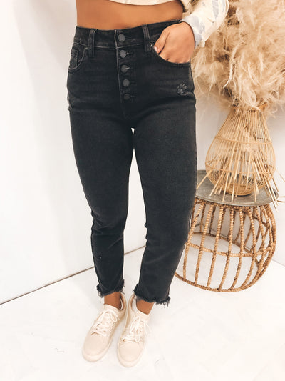 Going For It High Rise Jeans
