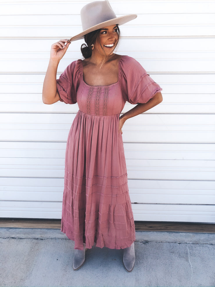 Dainty Love Maxi Dress