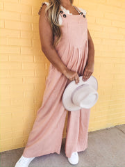 Just Peachy Overall/Jumpsuit