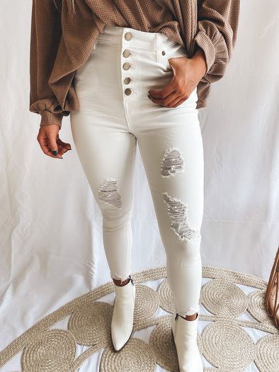 Heaven Sent Highrise Jeans