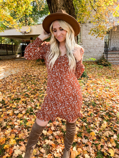 Autumn Attire Dress
