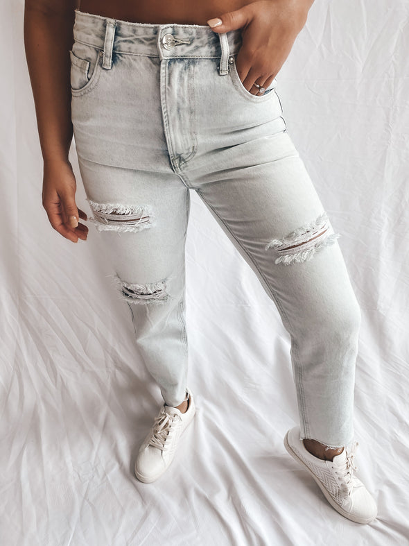 So Will I Hi-Rise Straight Jeans