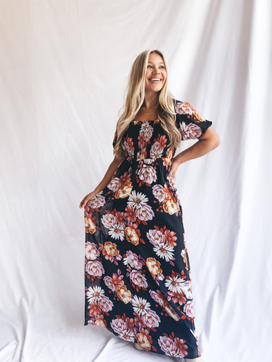 Simple Woman Maxi Dress