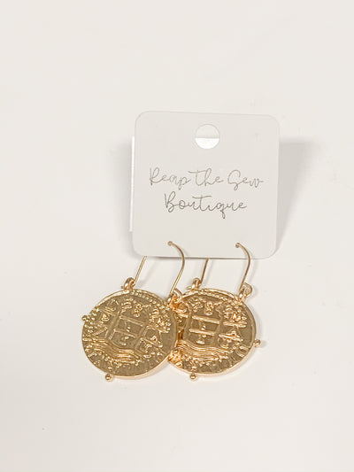 Travel Makes You Richer Earrings