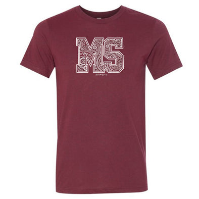 Mississippi Paisley T-Shirt