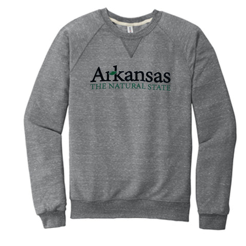 Arkansas Natural State Fleece Sweatshirt