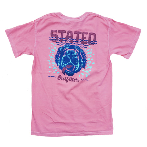 Stated Outfitters Lake Dog CC watermelon tee