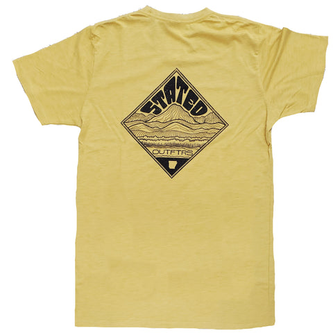 Stated Outfitters Mustard Diamond Tee