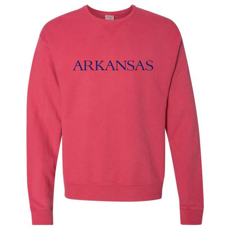 By the sea Arkansas Red Sweatshirt